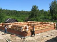 Строительство дома из бревен в Татарстане