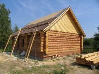 Строительство дома из бревен в Казани