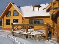 Строительство бревенчатого дома в Казани