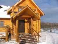 Строительство бревенчатого дома в Татарстане