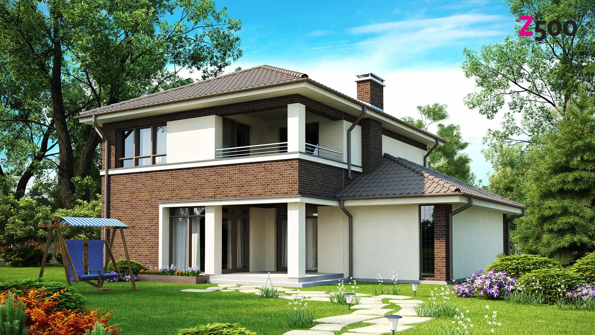Дизайн проект двухэтажного дома фото