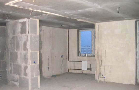 Ремонт квартиры с черновой отделкой