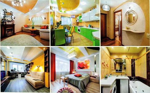 ремонт дизайн 3х комнатной квартиры