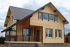Строительство каркасных домов и коттеджей под ключ в Казани